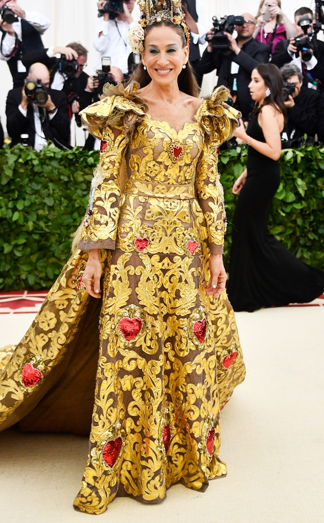 Sarah Jessica Parker -  The  Sex and the City  star is never one to miss the Met Gala, but she revealed on social media that international travel unfortunately kept her from RSVP'ing.