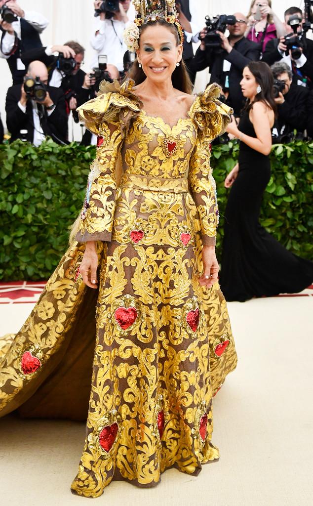 Sarah Jessica Parker, 2018 Met Gala, Red Carpet Fashions