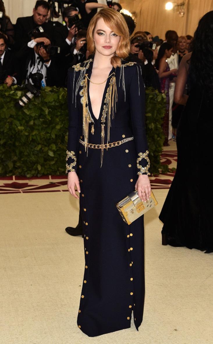 2018 Met Gala Red Carpet Fashion Emma Stone, 2018 Met Gala, Red Carpet Fashions