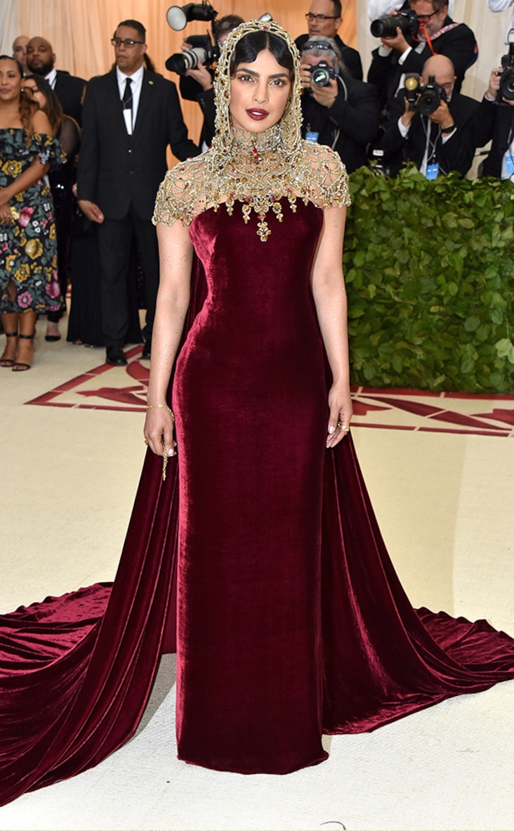2018 Met Gala Red Carpet Fashion Priyanka Chopra, 2018 Met Gala, Red Carpet Fashions