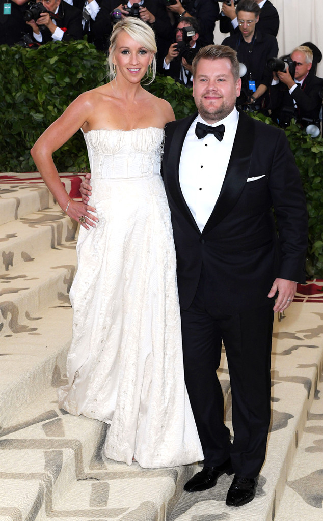 James Corden, Julia Carey, Met Gala 2018, Couples