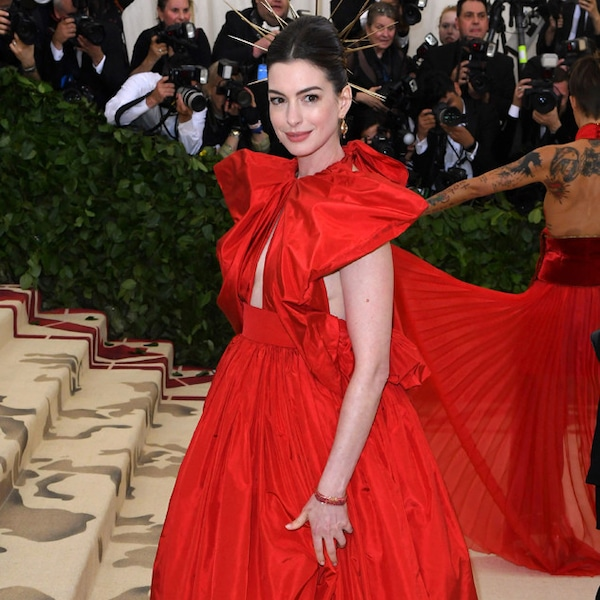 Anne Hathaway From Met Gala 2018: Best Dressed Stars To