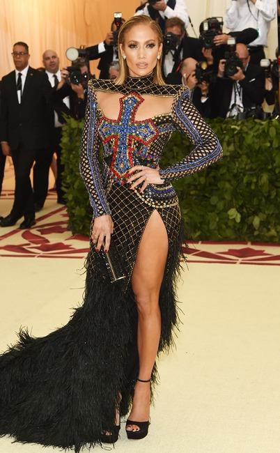 Jennifer Lopez, 2018 Met Gala, Red Carpet Fashions
