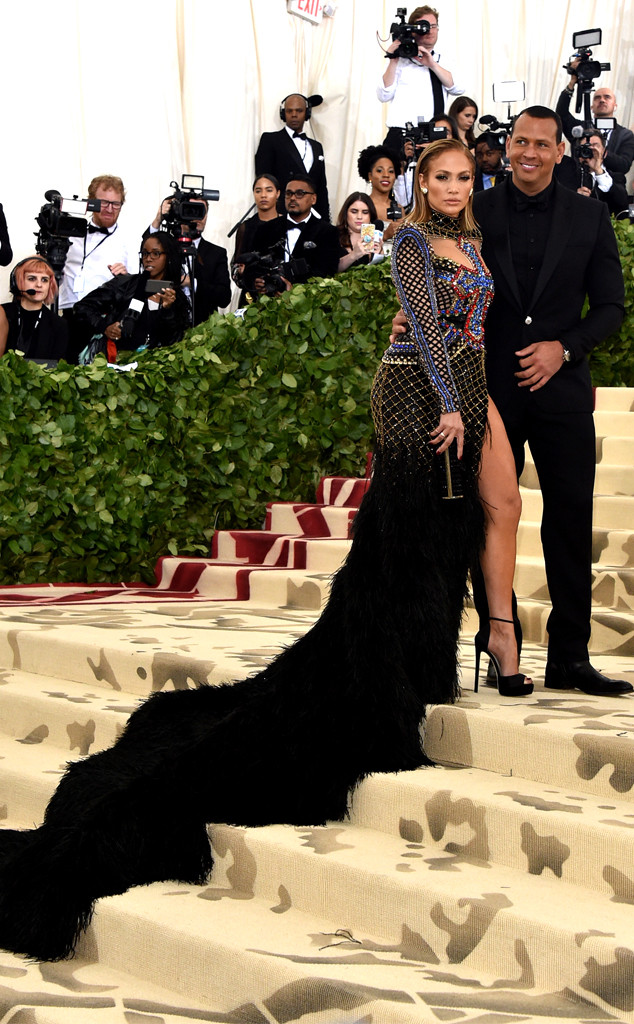 Jennifer Lopez, Alex Rodriguez Met Gala 2018, Couples