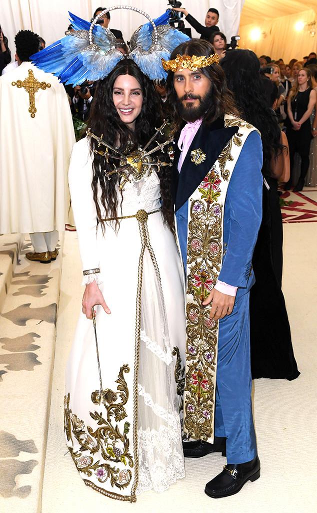 Lana Del Rey, Jared Leto, Met Gala 2018