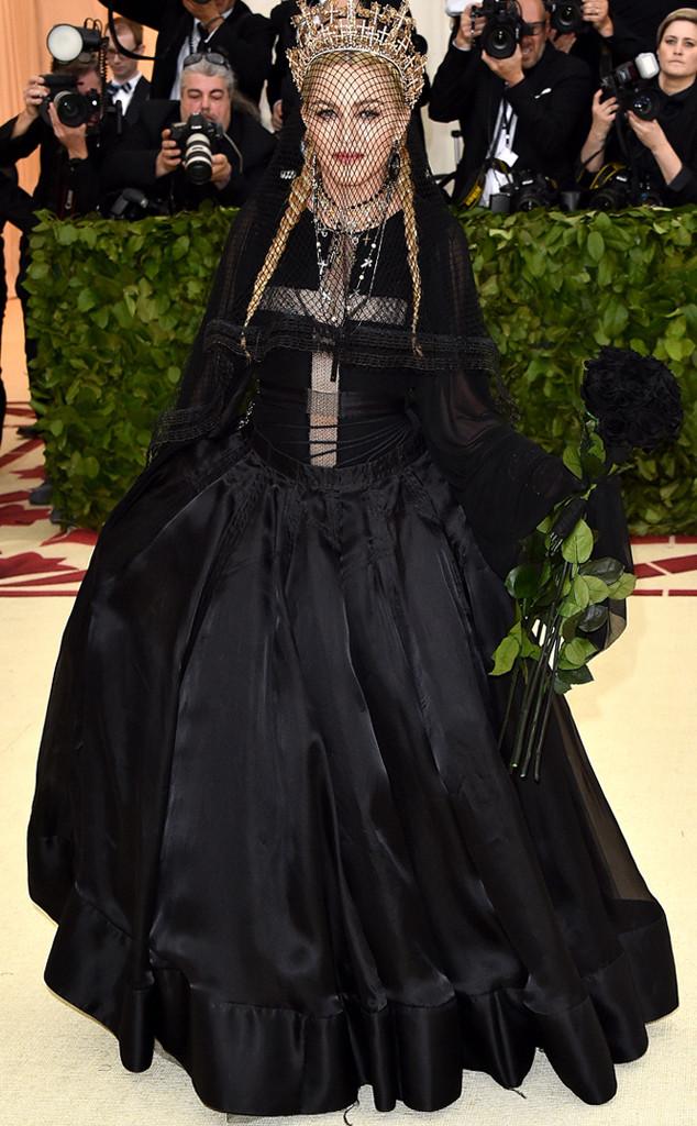 Madonna, 2018 Met Gala, Red Carpet Fashions