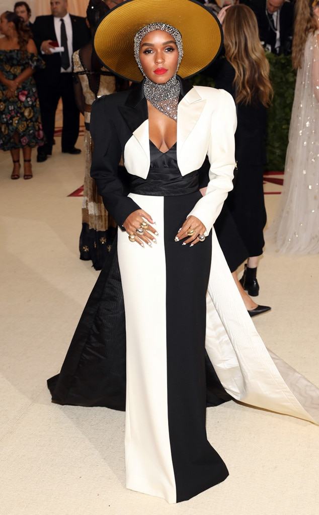 Janelle Monae, 2018 Met Gala, Red Carpet Fashions
