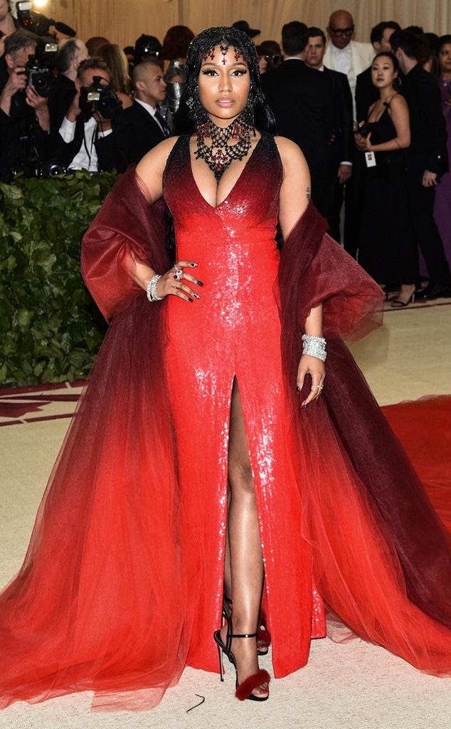 Nicki Minaj, 2018 Met Gala, Red Carpet Fashions, Widget