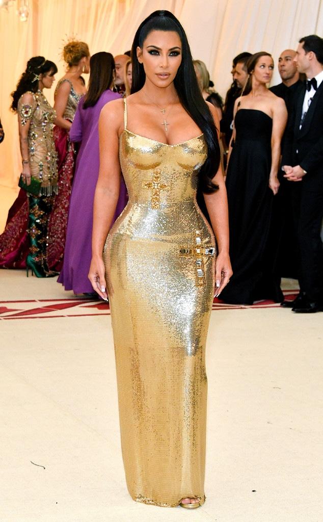Kim Kardashian, 2018 Met Gala, Red Carpet Fashions, Kardashian Met Gala Widget