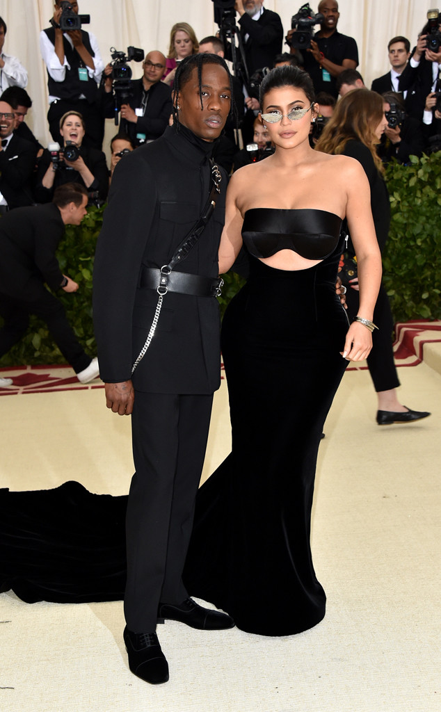 Kylie Jenner, Travis Scott, The Met Gala Is The Year 2018, The Couples