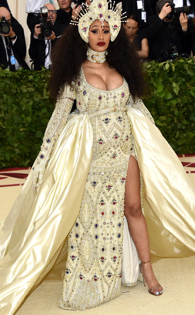 Cardi B, 2018 Met Gala, Red Carpet Fashions