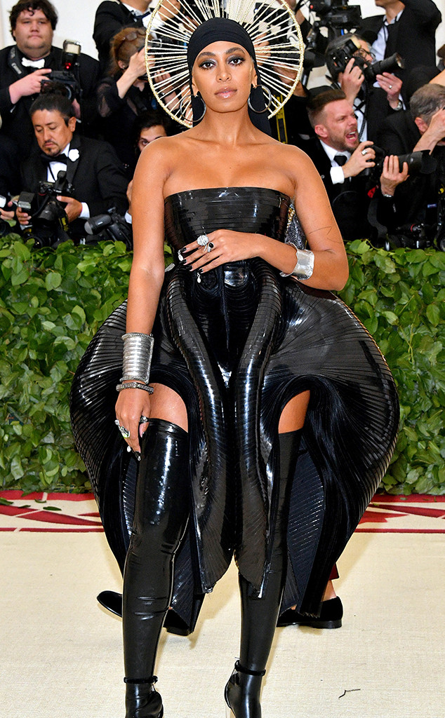 Solange Knowles, 2018 Met Gala, Red Carpet Fashions