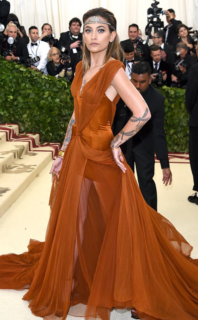 Paris Jackson, 2018 Met Gala, Red Carpet Fashions