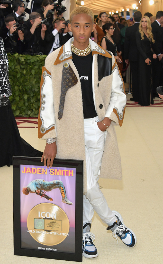 Jaden Smith , 2018 Met Gala, Red Carpet Fashions