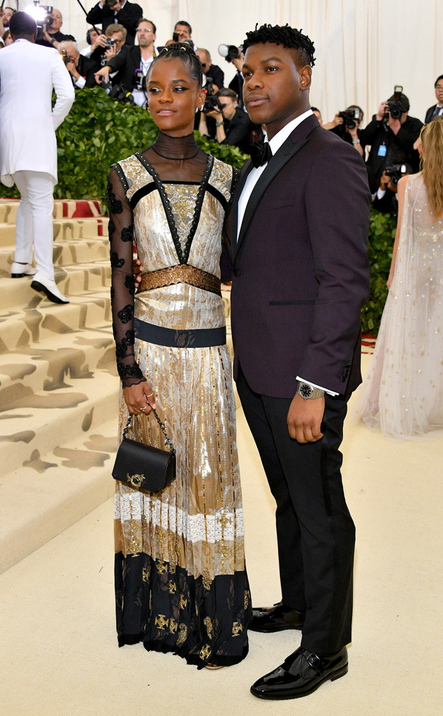 Letitia Wright, John Boyega, Met Gala 2018, Couples