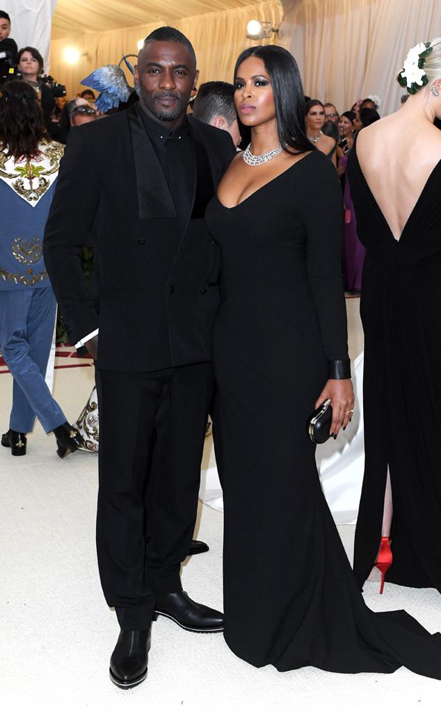 Idris Elba, Sabrina Dhowre, John Boyega, Met Gala 2018, Couples