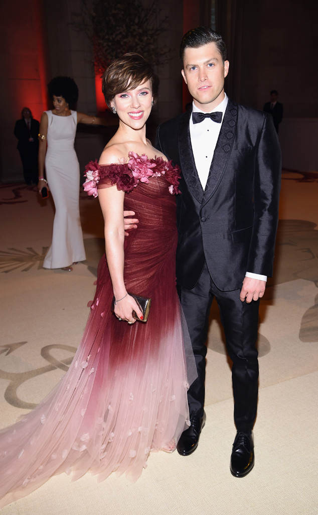 Scarlett Johanson, Colin Jost, Met Gala, 2018, Couples