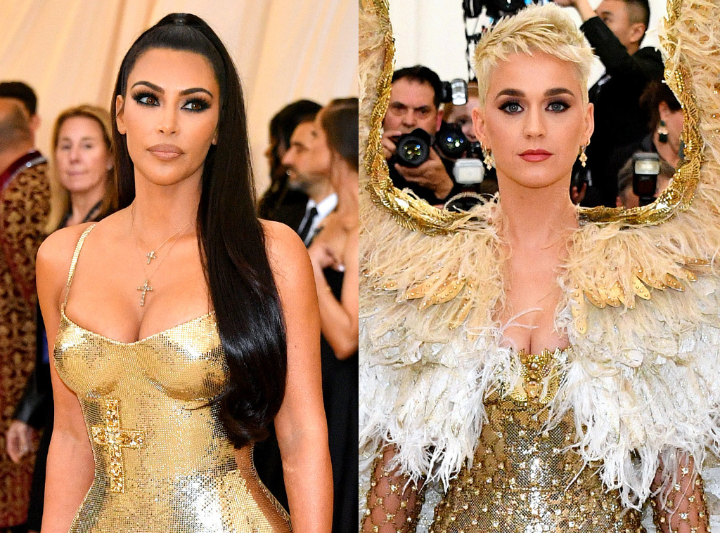 Kim Kardashian, Katy Perry, 2018 Met Gala