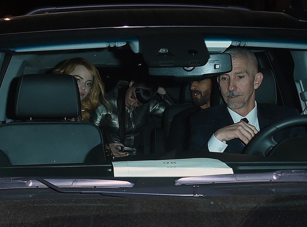 Justin Theroux, Emma Stone