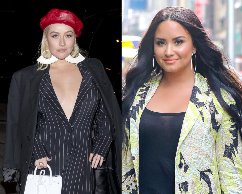 Christina Aguilera, Demi Lovato