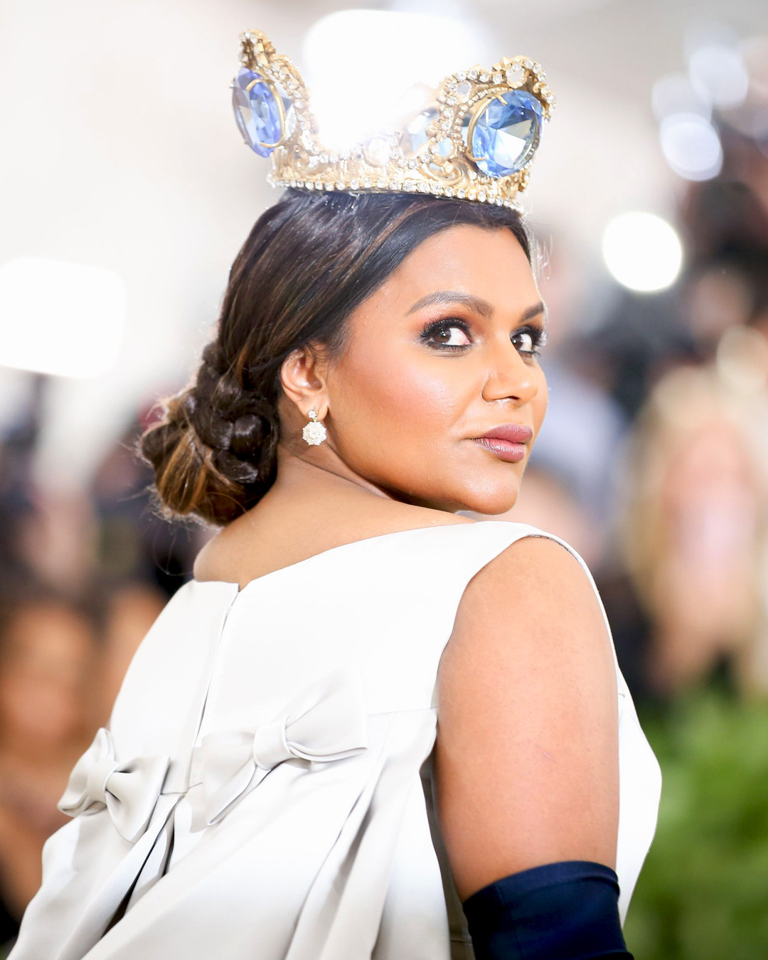 ESC: Met Gala 2018, Mindy Kaling, Beauty