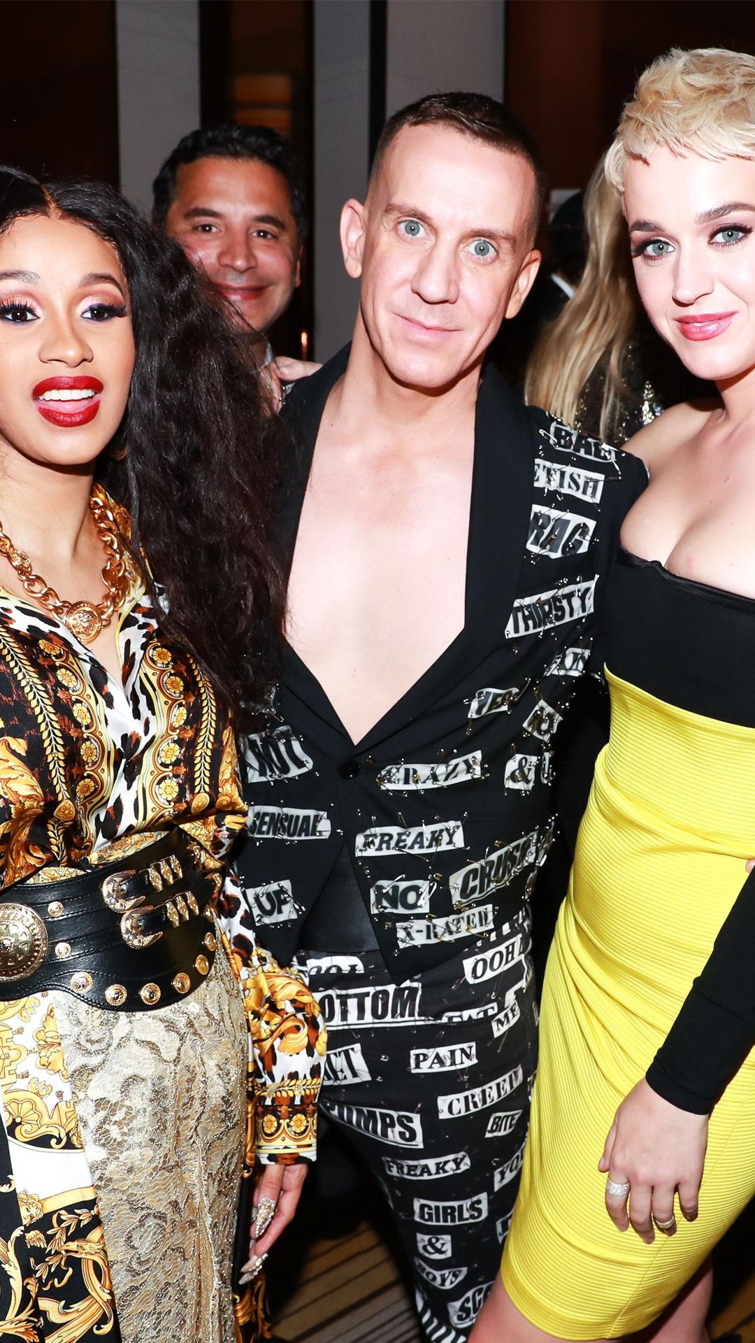 Cardi B, Jeremy Scott, Katy Perry, Met Gala Afterparty 2018