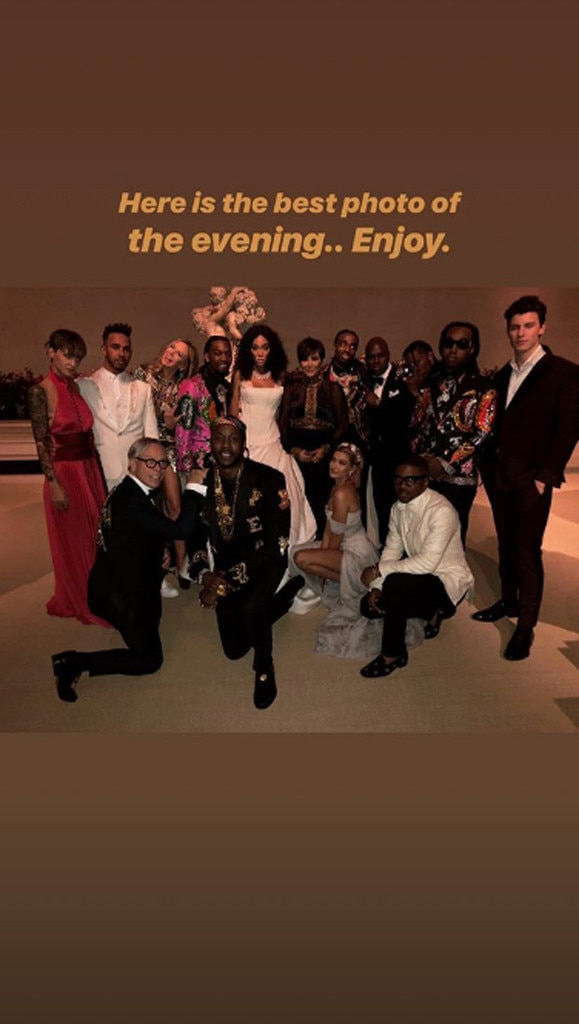Squad Goals -  Squint your eyes and you'll be able to spot celebs including Hailey Baldwin, Shawn Mendes, Kris Jenner, Migos and more!