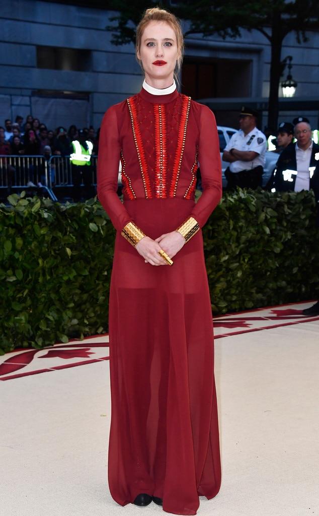 Mackenzie Davis, Met Gala 2018