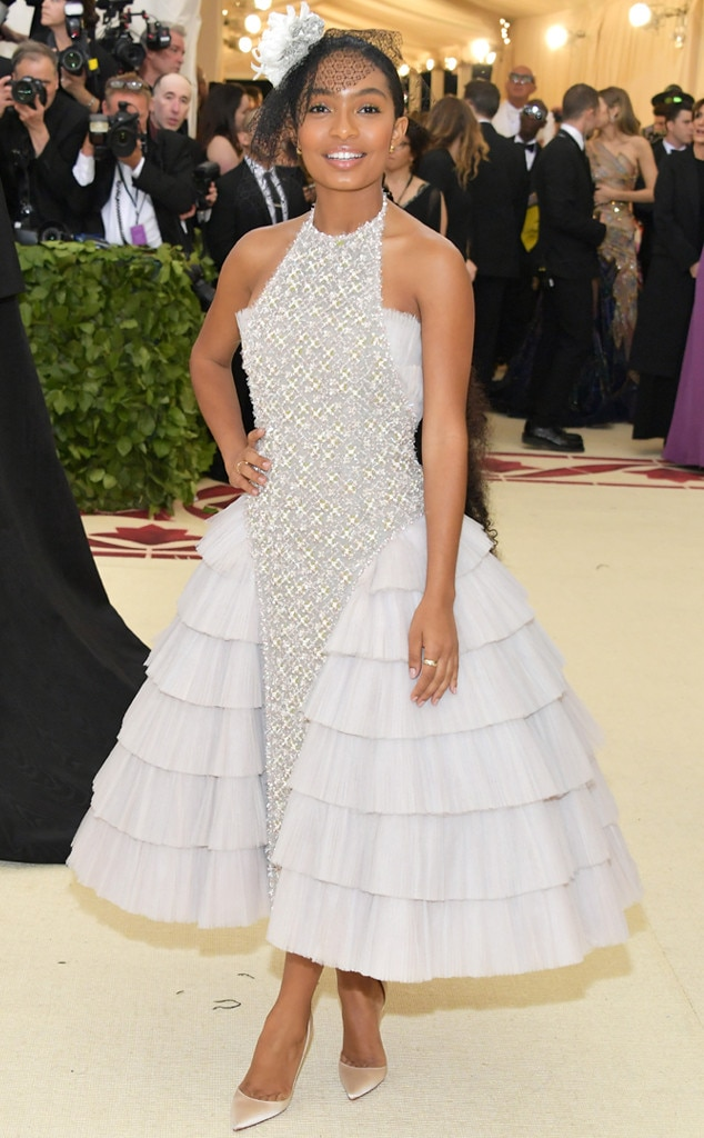 Image result for met gala 2018 yara shahidi