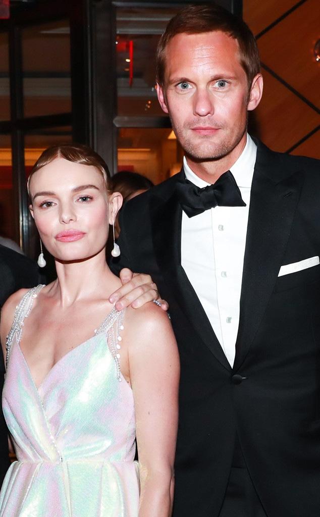 Kate Bosworth, Alexander Skarsgard, 2018 Met Gala