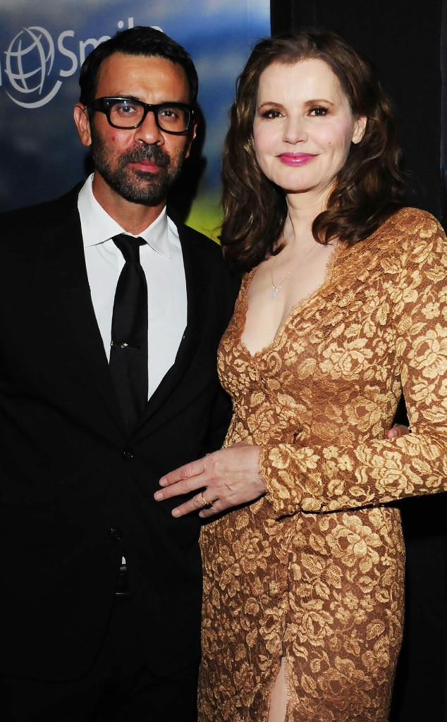 Geena Davis and Dr Reza Jarrahy Divorcing After 16 Years of