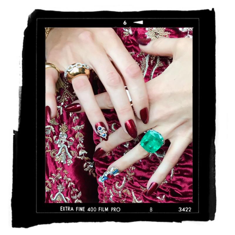 ESC: Blake Lively, Met Gala 2018, Manicure