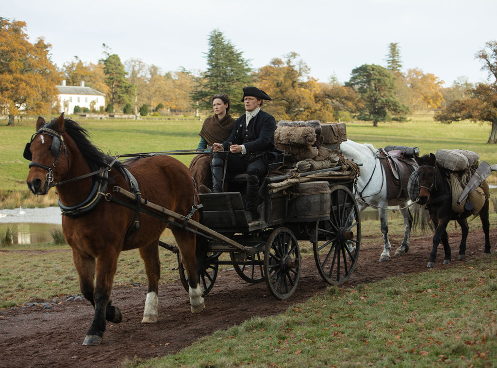 Outlander Season 4, Caitriona Balfe, Sam Heughan