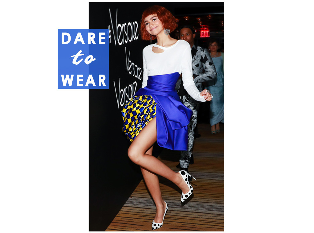 ESC: Zendaya, Dare to Wear