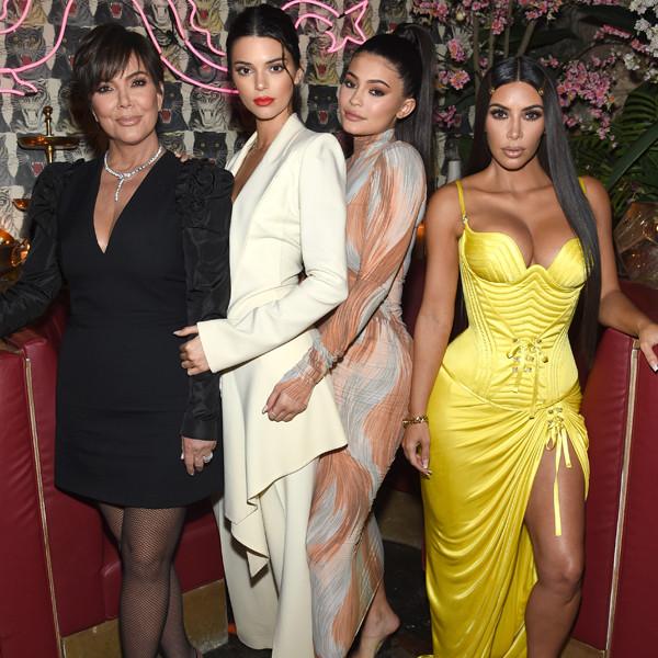 Kris Jenner, Kendall Jenner, Kylie Jenner, Kim Kardashian