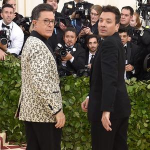 Stephen Colbert, Jimmy Fallon, 2018 Met Gala