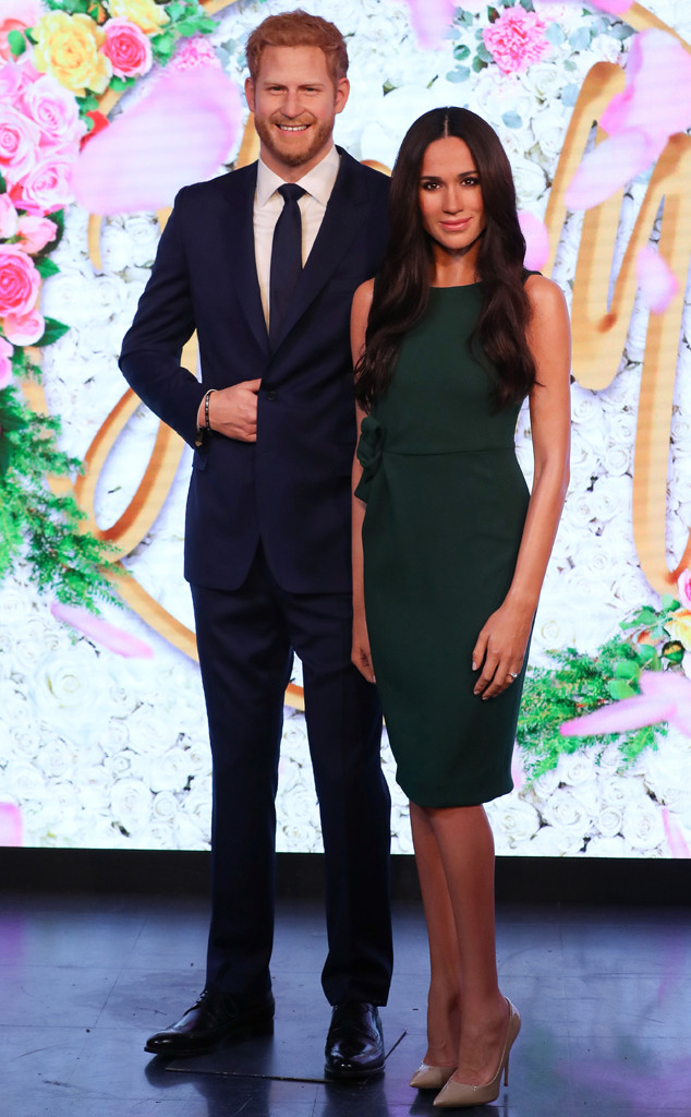 Prince Harry, Meghan Markle, Wax Figures