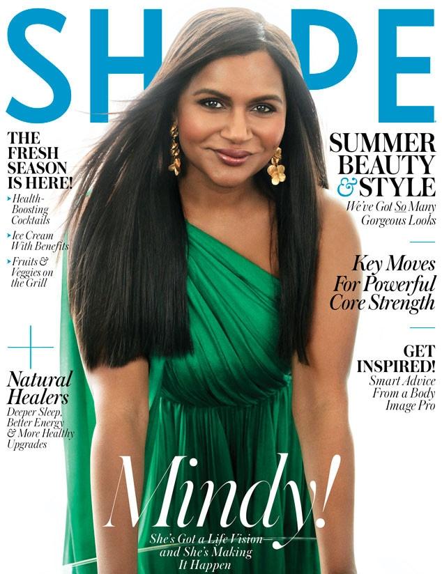 Mindy Kaling, Shape Magazine