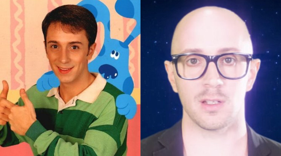 Las Pistas de Blue, Steve Burns