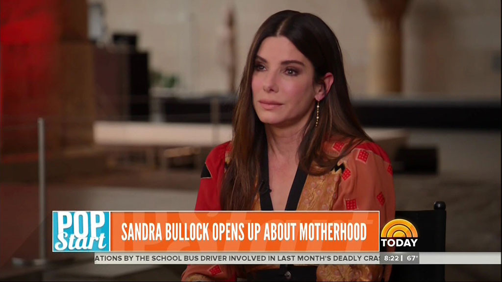 Sandra Bullock, Today