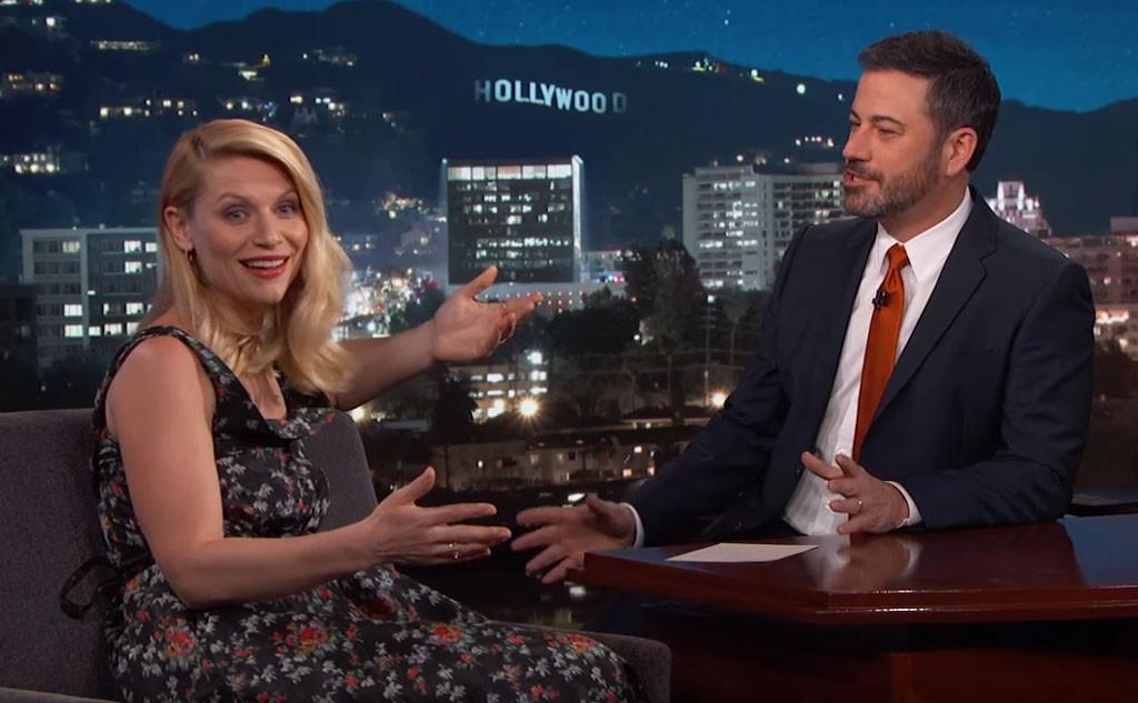 Claire Danes, Jimmy Kimmel Live