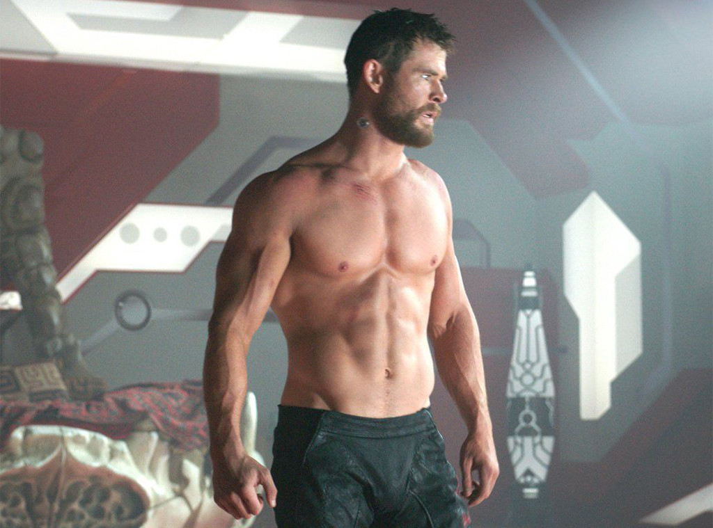 Chris Hemsworth, Shirtless, Thor
