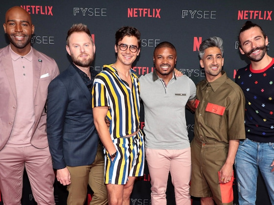 <i>Queer Eye</i>'s Fab Five Defend Ariana Grande and Pete Davidson's Quick Engagement
