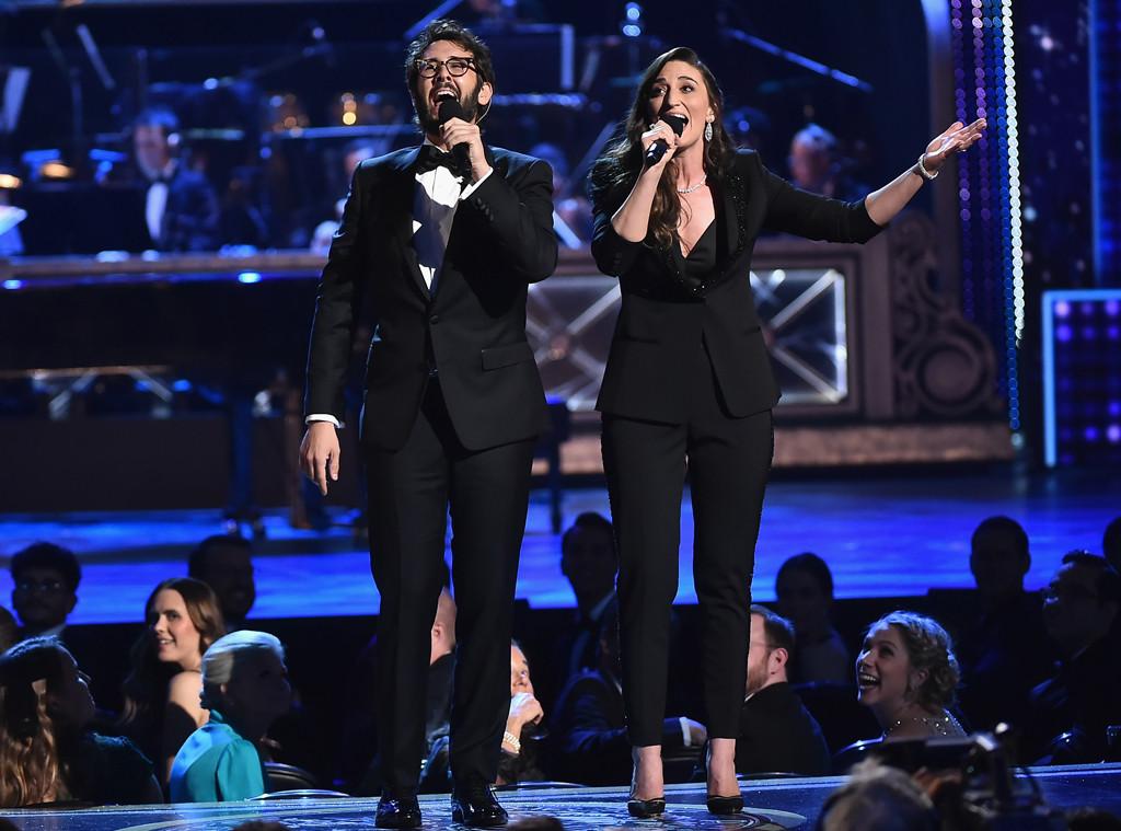 Josh Groban, Sara Bareilles, 2018 Tony Awards, Show