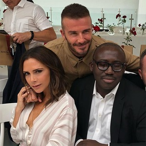 David Beckham, Victoria Beckham, Edward Enninful, Kim Jones, Fashion Show