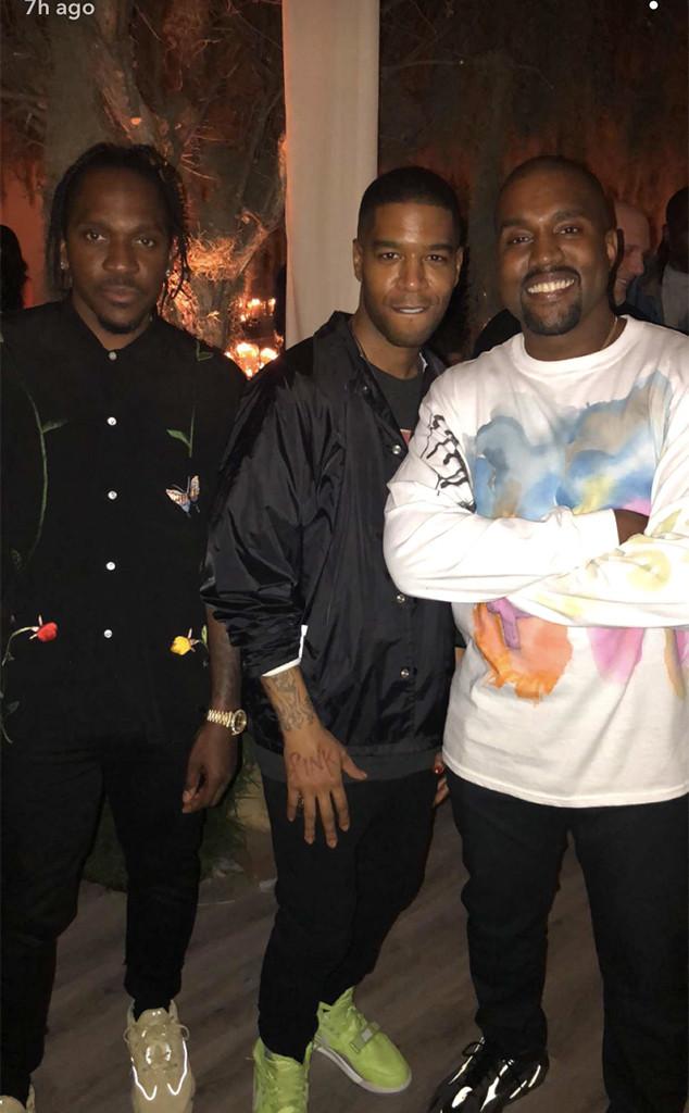 Kanye West, 41st Birthday Party