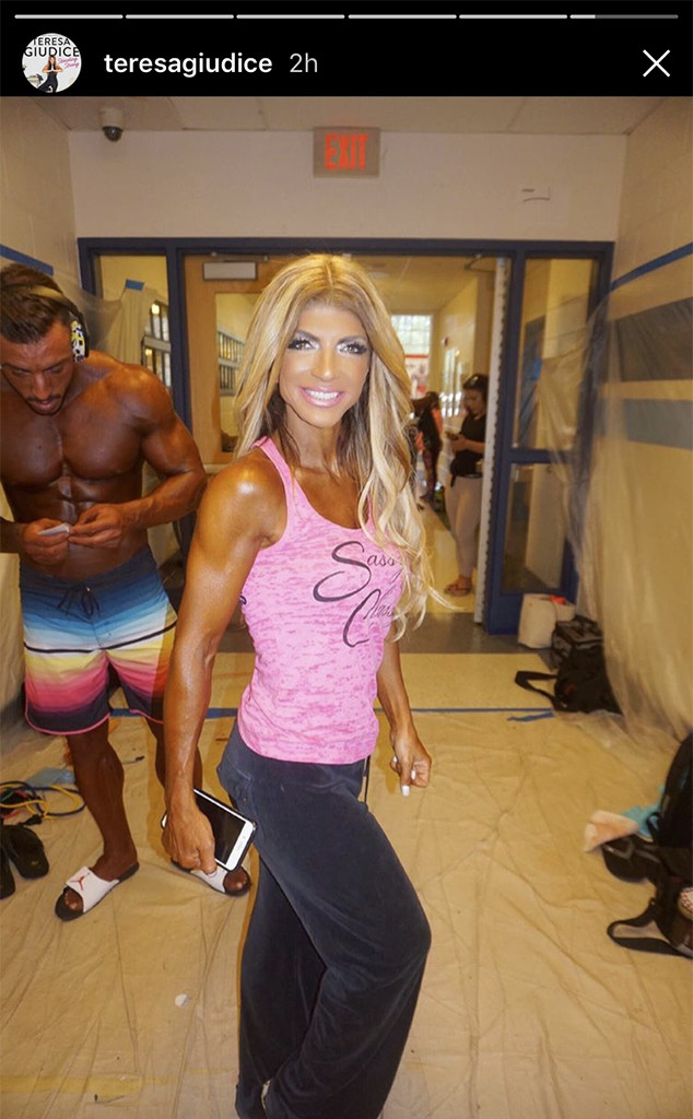 Teresa Giudice, Post-Bodybuilding Competition, Diet, Fitness