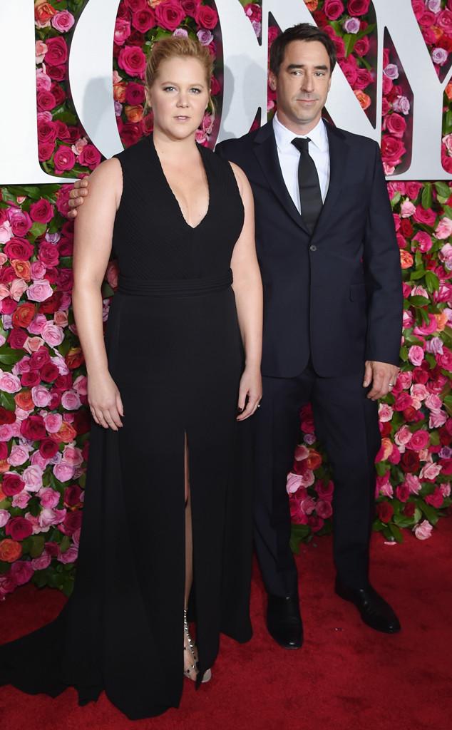 Amy Schumer, Chris Fischer, 2018 Tony Awards