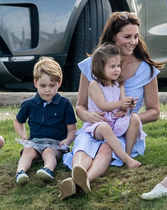 Kate Middleton, Prince George, Princess Charlotte