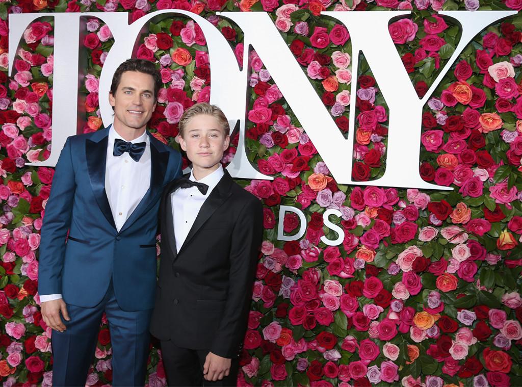 Matt Bomer Brings His Son Kit Halls To The 2018 Tony Awards E News